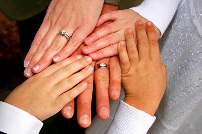 Blended Family Wedding