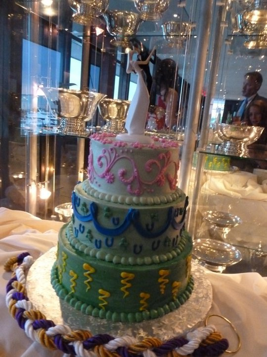 Second wedding cake, kids design the layers